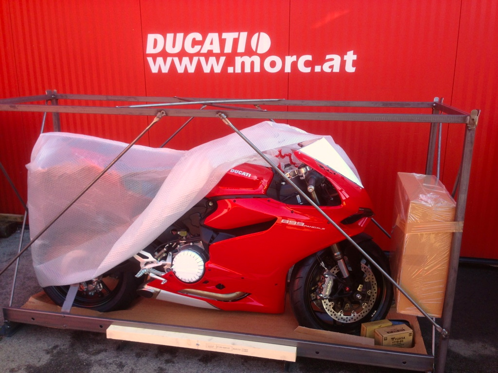 899 Panigale Anlieferung